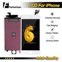 digitalizador de pantalla de pc al por mayor-Para el reemplazo de la pantalla táctil del digitizador de la pantalla táctil del reemplazo del iPhone 6 LCD 10 PC / porción DHL libre del envío
