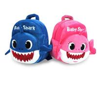 ingrosso prenota gli animali del bambino-Zaini bambino Shark bambini sacchetti di scuola peluche Cartoon 3D zaino animale stampato borse libro Kinderegarten borse borsa a tracolla di viaggio Totes B4511
