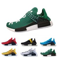 Wholesale online athletic shoes for sale - Group buy 2018 Cheap Online Human Race Pharrell Williams Sports Running Shoes discount Cheap Athletic mens Shoes