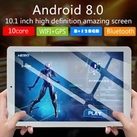 ingrosso compresse 4g wifi-Tablet PC da 10,1 '' 128 GB Android .0 Octa Core 4G-LTE HD WIFI 2 SIM Phablet