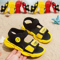 padrões de sapato de bebê crochê venda por atacado-Crianças Bebê Crochet Descalço Menina Princesa Toe Sapatos de Praia Padrão de Verão Catamite Sandálias de Movimento Crianças Meninas Da Moda