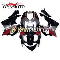 honda cbr 893 fairing toptan satış-Honda CBR900RR Için ABS Plastik Tam Fairing Kiti 893 1992 1993 CBR900 RR 92 93 cbr 900rr 92-93 Motosiklet Kaportalar Siyah Kırmızı Gümüş Kapak