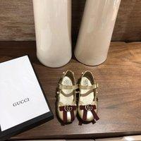 kapalı ayak parmak ayakkabıları toptan satış-Yeni Bebek Erkek kız Kapalı Toe Sandalet toddler Yumuşak Deri Sandalet Plaj Delik Seyahat moda çocuklar için Ayarlanabilir Ayakkabı sneakers G-2
