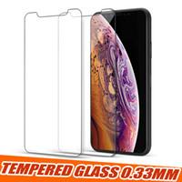 lg telefonbildschirme großhandel-Gehärtetes Glas für Metro-Handys Displayschutzfolie für Google Pixel 3A XL Moto G7 Power Z4 E5 Spielen Sie LG Stylo 5 Samsung A20 A30 A50 Protector