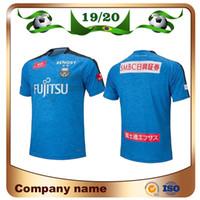 hombres kawasaki al por mayor-19/20 J1 League Kawasaki Frontale Camisetas de fútbol 2020 Kawasaki Frontale casa azul Fútbol Camiseta Hombre Fútbol Uniforme ventas
