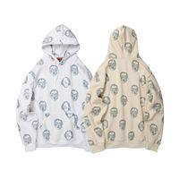 frauen fleece hoodie xl großhandel-Herbst neue Mens Womens Printed Pullover Hoodies 2019 Fashion Designer Kapuzen-Sweatshirts Casual Streetwear Fleece Tops