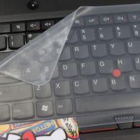 17 funda impermeable para laptop al por mayor-Teclado para computadora portátil Película protectora Cubierta para teclado para computadora portátil a prueba de agua 14 15 17 pulgadas Cubierta de computadora portátil Película a prueba de polvo de silicona