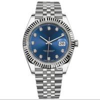 роскошные часы бриллианты оптовых-15 цветов роскошные часы 41мм 126333 126334 116233 Автоматические часы Diamond часы бумага Нержавеющая сталь 2813 Механизм мужские сапфировые часы