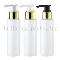 Wholesale shampoo pump dispenser bottle for sale - Group buy 30pcs ml Empty white Lotion gold Pump Bottles Screw Dispenser For Cosmetic Packaging Lotion Cream Pump Vial Shampoo Shower