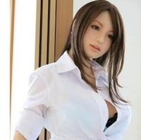 körper sex spielzeug für männer großhandel-sexpuppe echte silikon japanische liebespuppen ganzkörper realistische analsexpuppen erwachsenes sexspielzeug für männer