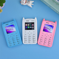 Wholesale portugal gifts resale online - kid s Mobile Phone Mini Child Bluetooth G GSM mp Camera Support TF card Single SIM MP3 Music Toys Gifts A5 Cartoon Phone