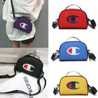 tuch clutch taschen großhandel-Champion einzelne Umhängetaschen Frauen Handtaschen Messenger Bags Oxford Tuch Clutch Taschen Sport Outdoor Funny Pack Kosmetiktasche beste C51001