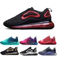 zapatos purpurina al por mayor-nike air max 720 720s 72c airmax Zapatos para correr Pride Spirit Teal Easter Pack Obsidian Iridescent Mesh Fuel Orange Mujer Hombre Zapatillas de deporte Zapatillas de deporte