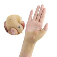 suporte elástico venda por atacado-Corrector massagem alívio da dor suave pulso da mão Brace Luva Thumb Suporte impermeável terapia magnética Elastic