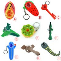 Wholesale free shipping for shisha hookah for sale - Group buy Unbreakable Silicone smoking pipe shisha hookah glass spoon pipe with glass bowl style for choice glass oil herb rigs