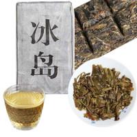 ingrosso cibo di mattoni-Grado superiore Yunnan Raw Pu'er Old Tea Piccolo islandese Puer Mini tè mattone Cibo sano verde