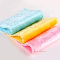 toallas de fibra al por mayor-TL Alta eficiencia ANTI-GREASY Paño de lavado de fibra de bambú Paño de cocina Toalla limpia Cocina mágica Lavado de limpieza Paño de limpieza Paño 20x25cm