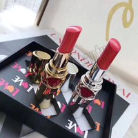 Wholesale lips blam for sale - Group buy 2019 Famous Brand Y make up Lip set Liquid Colour Blam colors Lip Golss kit set Lipstick travel sellection