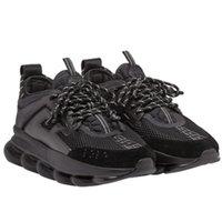 kadınlar için kumaş ayakkabıları toptan satış-Zincir Reaksiyonu 6 cm Medusa Ayakkabı RP Link-Kabartmalı Taban Sneakers Eğitmen kaymaz Rahat Erkekler Kadınlar Için Rahat Kumaşla ...