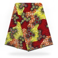 afrikanisches superwachs hollandais großhandel-African Veritable Super-Hollandais-Wachsstoff 6 Meter garantiert holländischer Wachs-Super-Hollandais-Stoff für Kleid H9031512