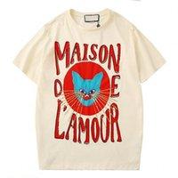 camisa de algodão com lantejoulas venda por atacado-Casual Mens Designer camisetas Mens Moda Mulher Vestuário Streetwear T camisa bordada de lantejoulas Tripulação Cotton Neck manga curta S-XXL