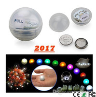 Wholesale floating fairy lights resale online - 50pcs Mini Twinkle LED night Light Battery Operated Berries CM Floating LED Ball fairy pearl For Wedding Party Events Decoration Light