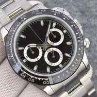 pulseras de diseño para al por mayor-Pulsera de cerámica de moda Diseñador para hombre Mecánico Acero inoxidable 2813 Movimiento automático Reloj para hombre Relojes deportivos de lujo Relojes de pulsera