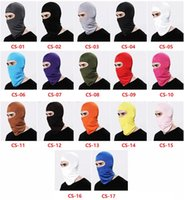 Wholesale cs day for sale - Group buy New Soft Outdoor Cycling Face Mask Balaclava Bicycle Face Masks Hats Riding Hiking Windproof Cycling hat caps CS Masks Breathable