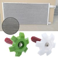 Wholesale c comb resale online - Universal Car A C Radiator Condenser Fin Comb Air Conditioner Coil Straightener Cleaning Tool Auto Cooling System Repair Tools