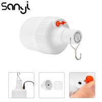 Wholesale blub lamp resale online - SANYI LED Portable Lantern Built in Battery with Power Adapter Camping Light Modes Emergency Light Blub Tent Lamp