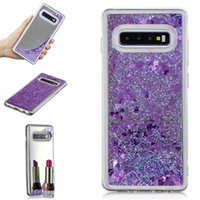 Wholesale mirror skin iphone for sale – best Bling Mirror Liquid Case For Samsung Galaxy S9 S8 S7 A8 A7 J4 J6 Plus Soft TPU Quicksand Cover Heart Love Star Glitter Sparkle Skin