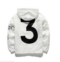 y3 hombres al por mayor-Nuevo diseño KANYE WEST Hombres Cazadora de Hip Hop MA1 Piloto Mens Tour YEEZUS Season Y3 Windbreaker Coat tamaño EE. UU.