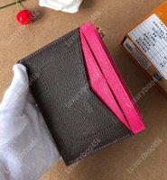 design de embalagem de carteira venda por atacado-2019 hot fashion handbag designer pacote de cartão de carteira de senhoras de couro carteira design perfeito ideal M62257