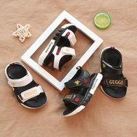 sapatos de sandália para crianças meninos venda por atacado-Nova Moda Confortável bebê Sandálias da criança praia do verão Sandália Crianças Sapatilhas macias respirável Bebés Meninos Meninas Kid Shoes