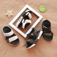 sandalias de playa bebé niño al por mayor-Nueva moda cómodo bebé sandalias niño verano playa sandalia niños zapatillas de deporte suave y transpirable bebé niños niñas niño zapatos