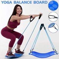 cuerda de tabla al por mayor-Twisting Fitness Balance Board con Pull Rope Simple Core Workout para músculos abdominales y piernas Balance Fitness Yoga Board