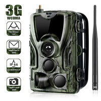 Wholesale sms security cameras online - 2019 G Hunting Trail Camera HC G p Video Transmission Wireless SMS Control Security Camera Outdoor Surveillance