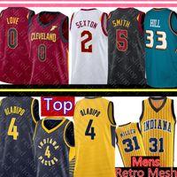 31 baloncesto al por mayor-NCAA Collin 2 Sexton Kevin 0 Love 5 Smith Jersey University Victor 4 Oladipo Retro Reggie 31 Miller Jerseys de baloncesto
