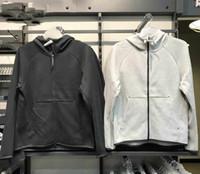 Wholesale sport tracks for sale - Group buy 2020 Europe America most classic sports brand mens designer sweatshirt track hoodie for men Comfortable breathable elasticity splice hoodies