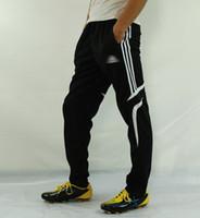 4xl fußball hose großhandel-der männliche Sport des Qualitätsfußballs schloss Beinhosen-Fußhosen, die Lauftrainingseintrainingshosen-Sommerdünnabschnitt laufen