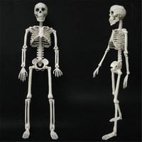 sanat partisi malzemeleri toptan satış-Korku Cadılar Bayramı Dekorasyon Esnek İnsan Anatomisi Kemik İskelet Modeli Tıbbi Yardım Anatomi Öğrenmek Sanat Kroki Parti Malzemeleri JK1909