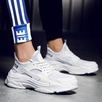 ingrosso scarpe coreane di caduta-Fall Trend Big Couple Shoes nel 2018 versione coreana di nuove scarpe da corsa sportive per il tempo libero