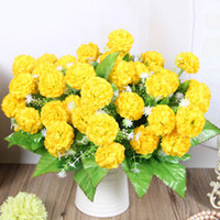 Wholesale artificial hydrangea wedding bouquets for sale - Group buy Fake Hydrangea Flowers Artificial Floral Simulation Bouquet Home Wedding Party Decoration SLC88