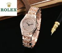 свадебные наручные часы оптовых-Подарок люксовый бренд дизайнер женские часы роскошные алмазные часы расширенный пользовательские оригинальный импортный кварцевые наручные часы из нержавеющей стали