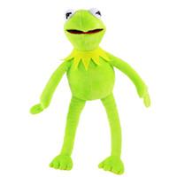 kurbağa peluş toptan satış-40CM Kermit Peluş Oyuncak Susam Sokağı Doll Doldurulmuş Hayvan Kermit Oyuncak Peluş Kurbağa Bebekler C5