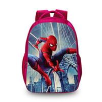 tasche mode kinder großhandel-Neue heiße 3d rucksäcke mode druck taschen für halloween kinder schule laptop tier kinder rucksack dropshipping