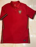 camisa do futebol do jogo venda por atacado-Atacadistas Ronaldo camisas de futebol jogo europeu copo 2020 mangas curtas casa JOÃO Felix camisas de futebol de 2020 uniformes de futebol da equipe nacional