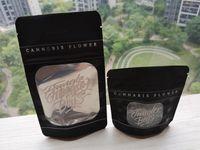 standı kese fermuarı toptan satış-Jungle Boys Koku Geçirmez Çanta Jungleboys Paket Kilitli Mylar Siyah Çanta Sadece Ambalaj Paketi Fermuar Kuru Ot Çiçekler için Kese Standı