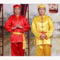 çince ejderha festival kostümleri toptan satış-Büyük ölçekli performansları Ejderha Tekne Festivali kostümleri Çin düğün kostümleri Ejderha tekne güzellikleri giyim