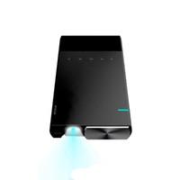 micro hdmi led al por mayor-Proyector portátil Ultra Projector 1080p Compatible con HD DLP LED Recargable Pico Projector con HDMI, USB, TF y Micro SD